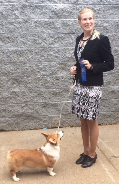 Class Winner! - 6-9 Mo Puppy Bitch - Sept 2014 - Murfreesboro, TN